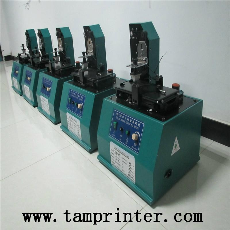 TDY-300 High Speed Small Electric Pad Printer 13