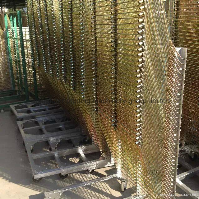TM-50DG galvanized 50 Layers Screen Printing Drying Racks 4