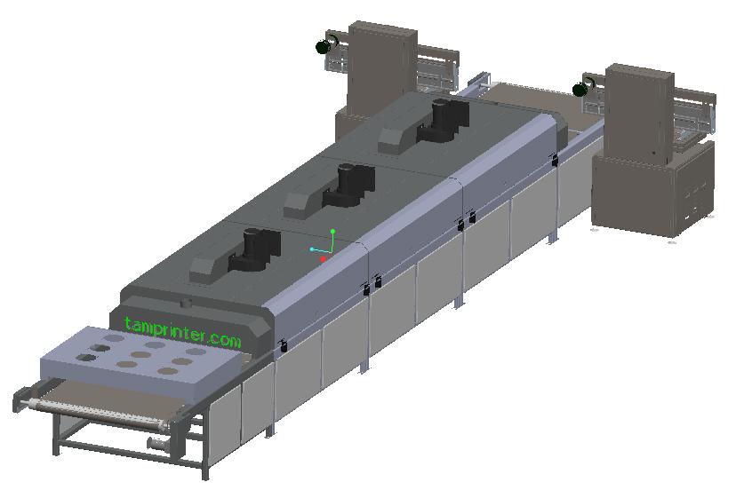 screen silk printing machine