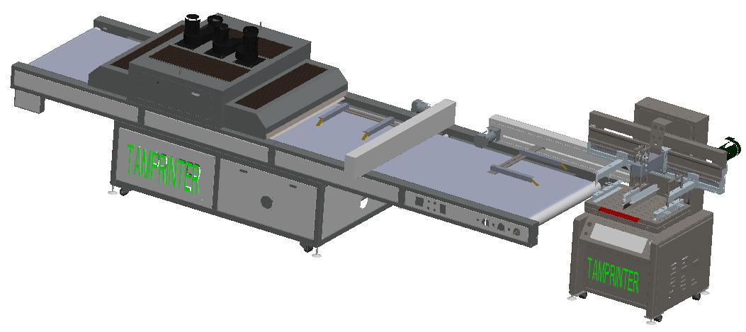 Clam Shell Screen Printing Machine 9