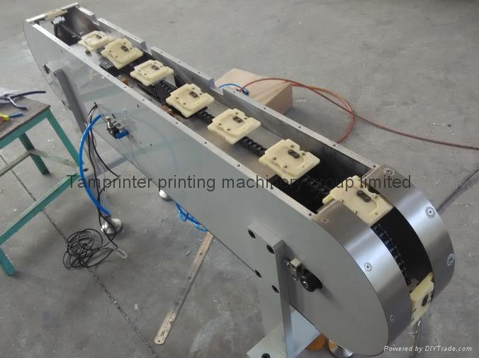 Vertical pad printer