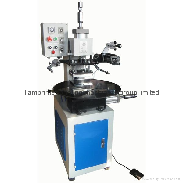 rotary  table Pneumatic hot stamping machine