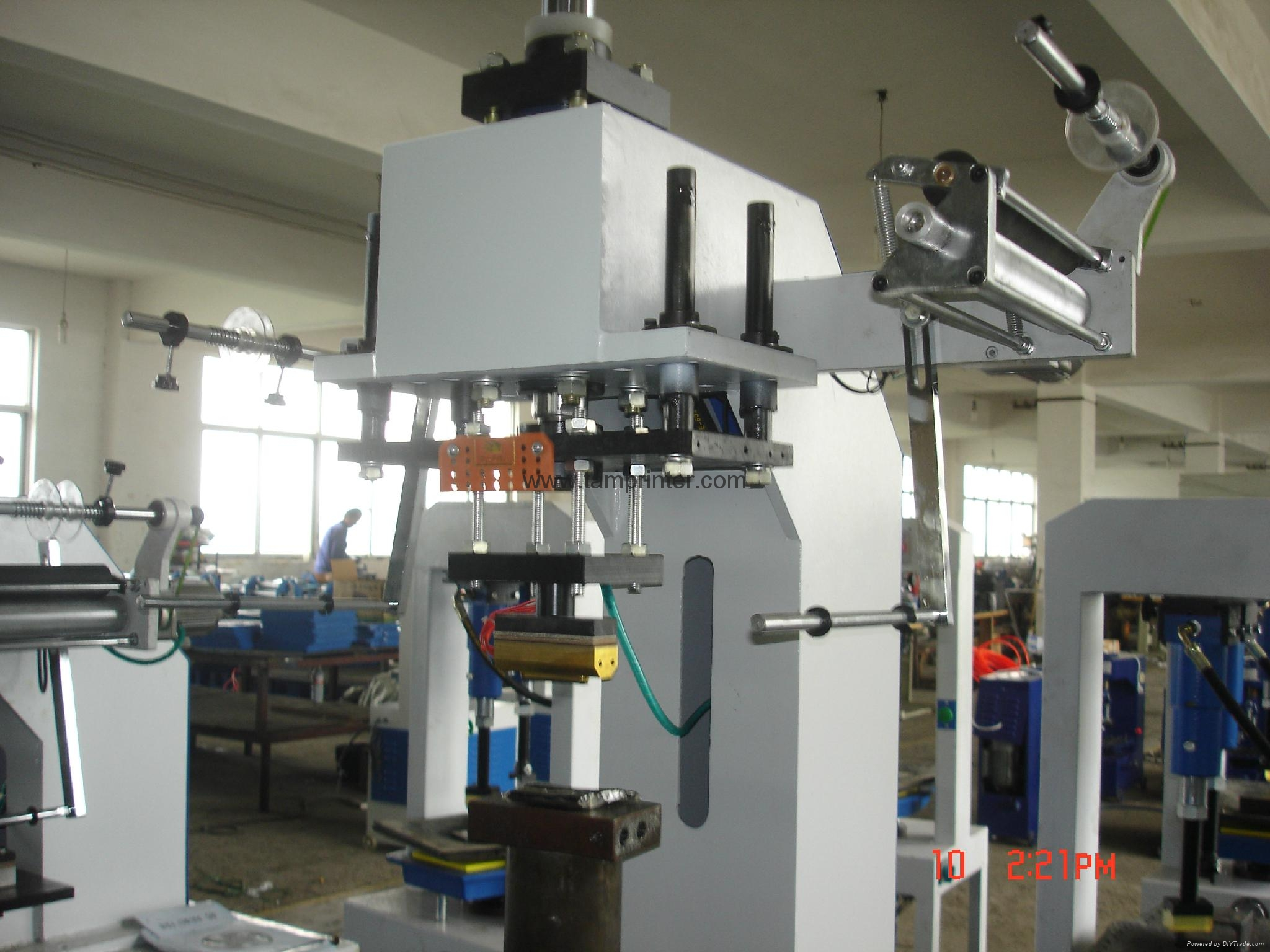 hydraulic heat press