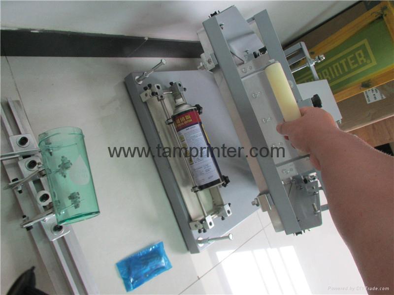 manual screen print