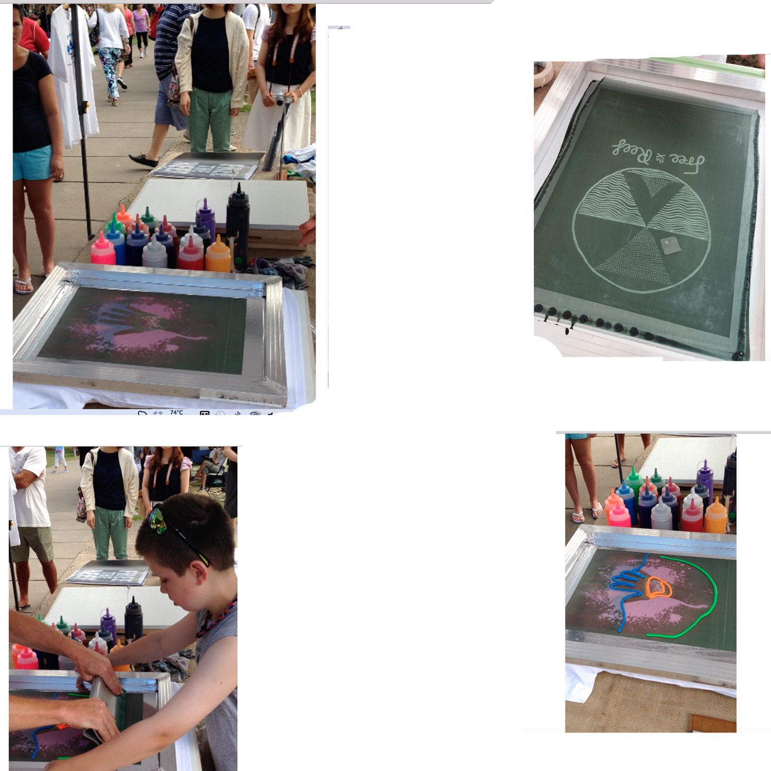 aluminum silk screen printing frame with mesh for screen printing machine 9