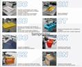 4 Color 4 Station Manual T Shirt Screen Printing Machine 10