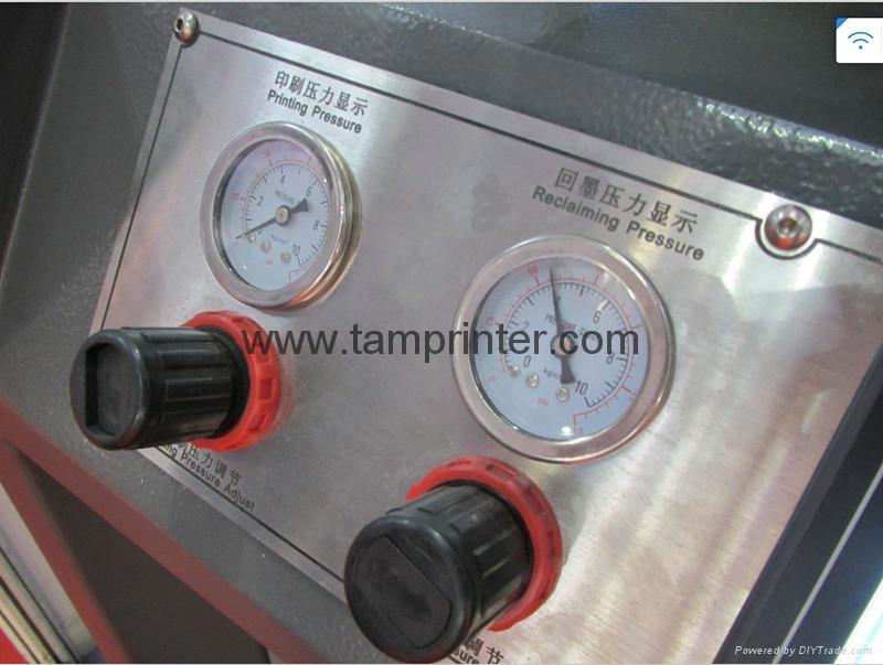 servo precision Vertical screen printing machine 14