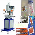 A5  Hot Stamping Machine for Flat round dual-use 11