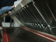 T-shirts Drying tunnel equipment