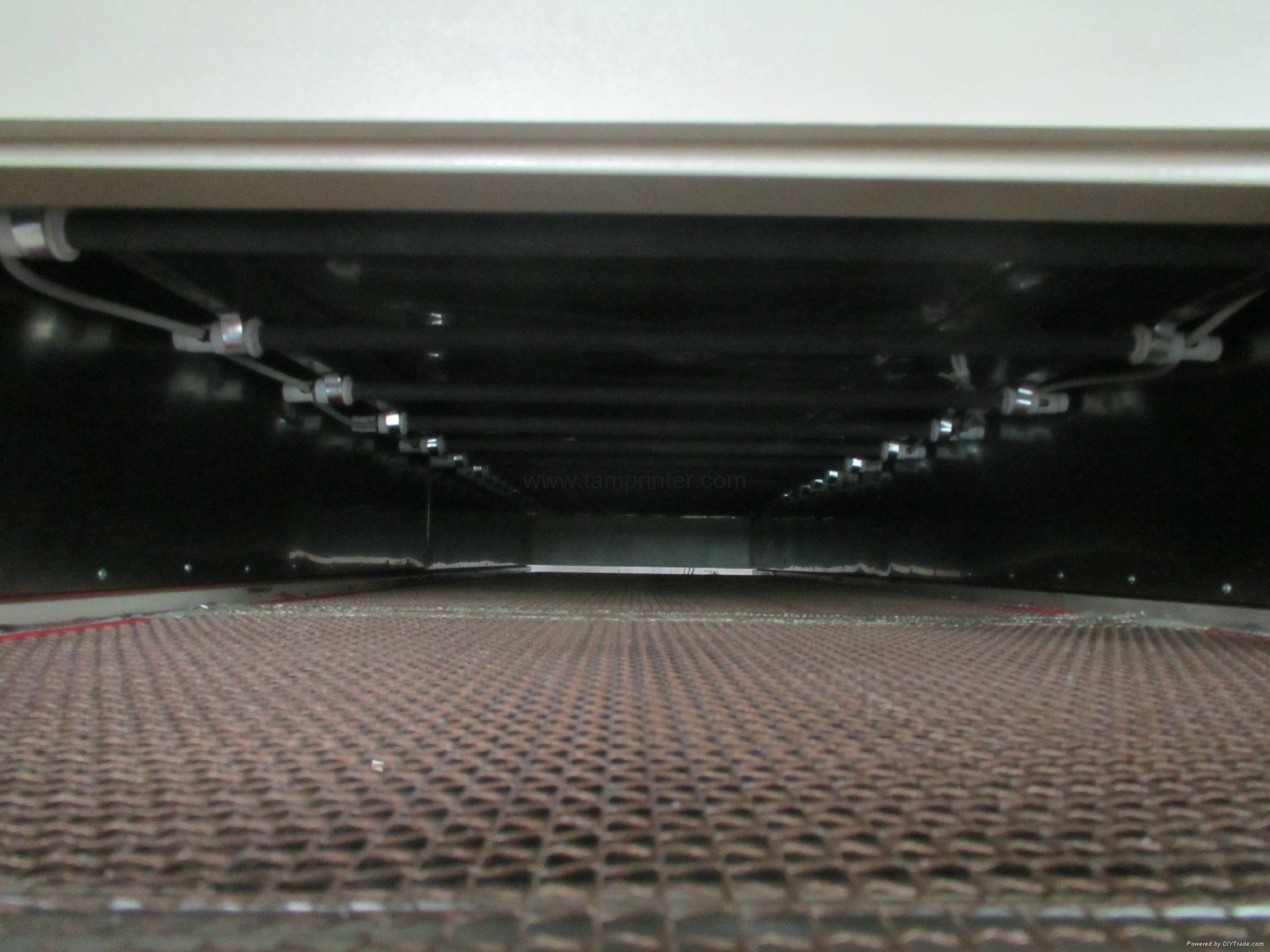 T-shirts IR Drying Tunnel