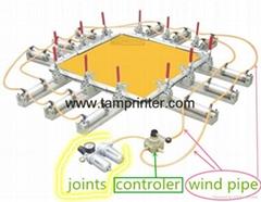 TSM-DIY-1C气动拉网夹组合