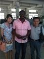 Nigeria fred visit tamprinter uv curing factory