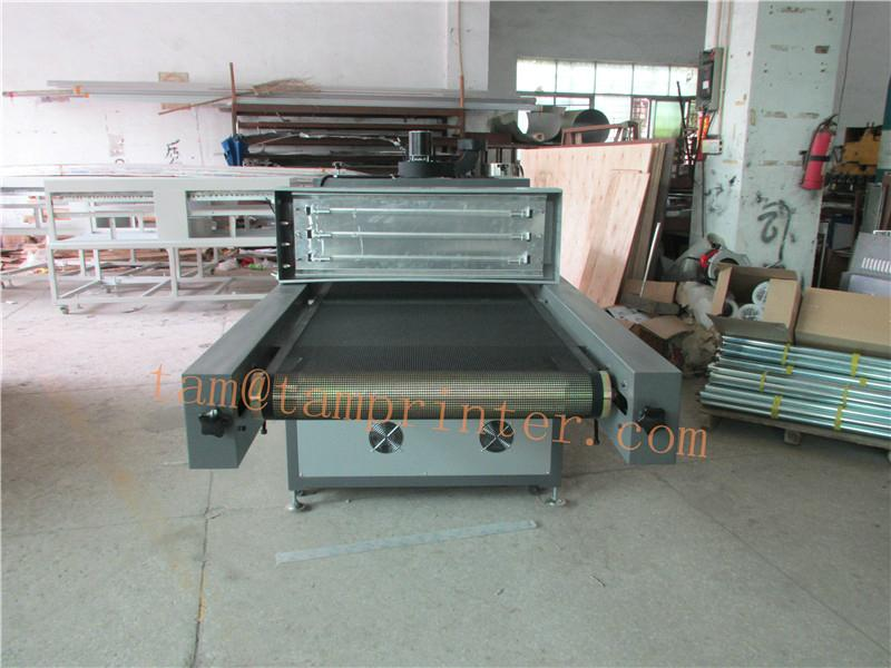 Conveyor uv led curing machine