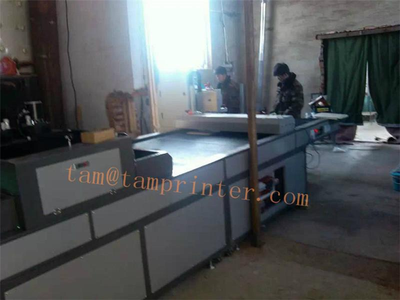 Conveyor UV drying system