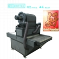 Automatic glitter powder machine