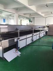 TAM-IR6000 26kw White quartz heating tube IR Heated Drying Tunnel oven