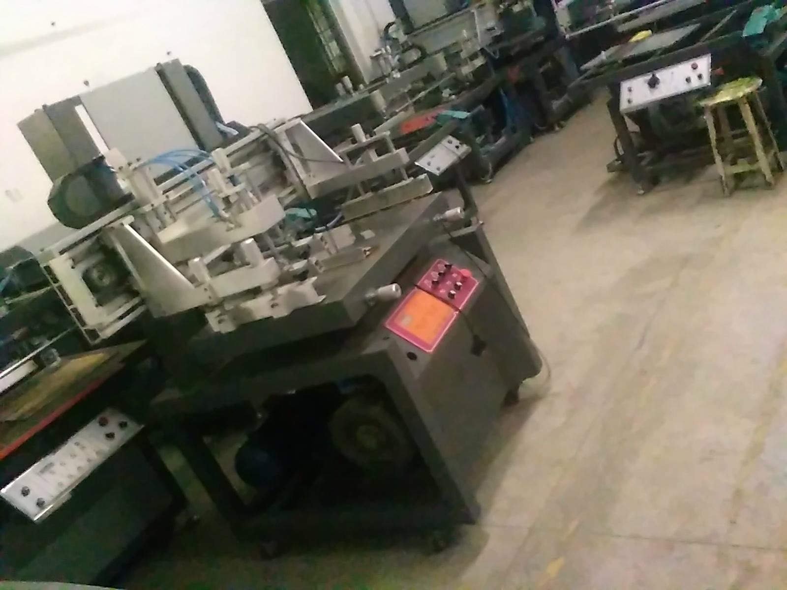 TAM- Z4 Plastic thin sheet clean room screen printing equipment 5
