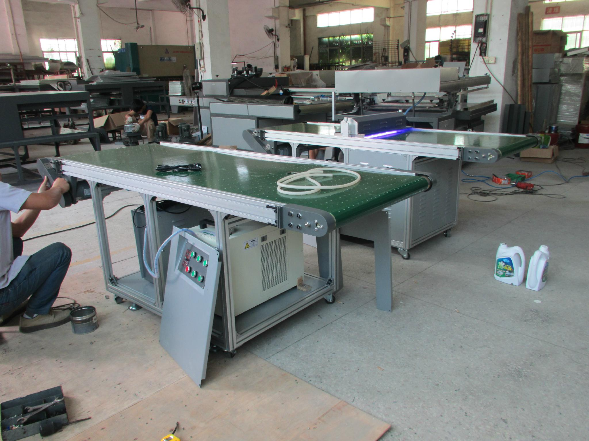 TAM- Z4 Plastic thin sheet clean room screen printing equipment 2