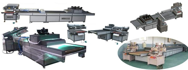 Sheet Screen Printing machine factory