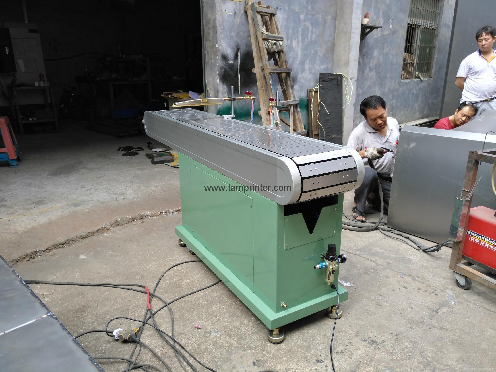PP.PE plastic sheet flat flame processor  4