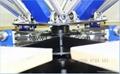 4 Color 4 Station Manual T Shirt Screen Printing Machine 5