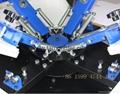 4 Color 4 Station Manual T Shirt Screen Printing Machine 12