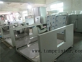 UV drying Line with Heating Leveling Machine