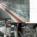 5m Industrial fabric yarns Mid-wave infrared oven