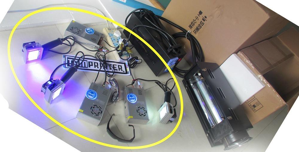 test LED uv dryer