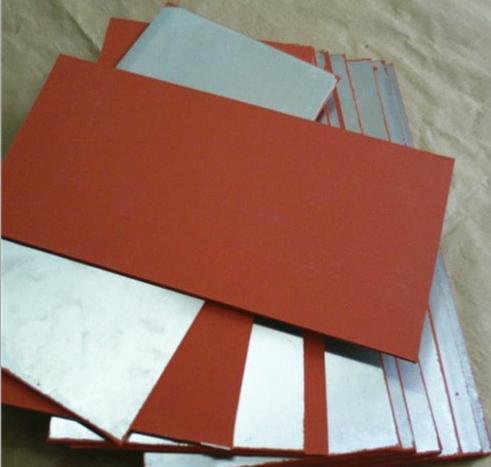 Stamping die raw material hot stamping silicone plate