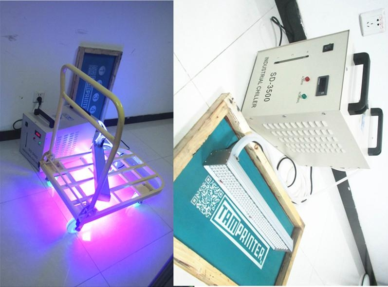 LED uv ink bridge dryer