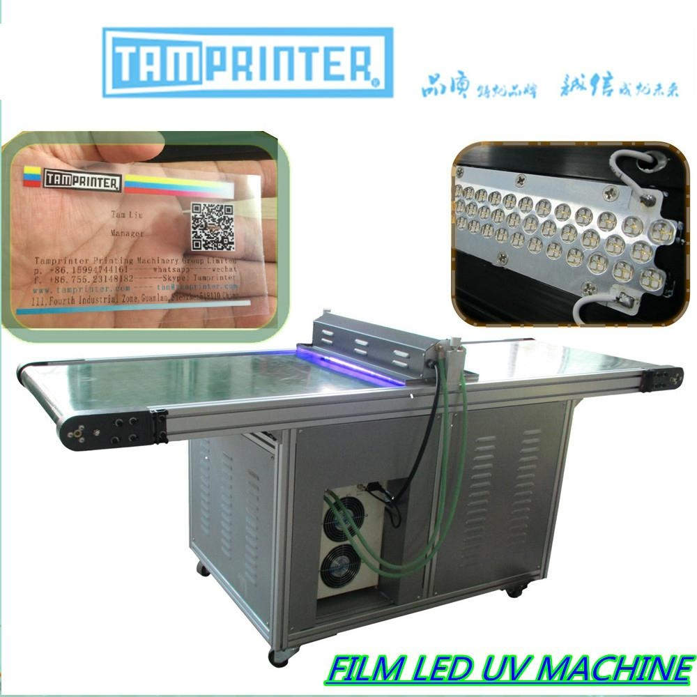 film LED uv tunnel dryer