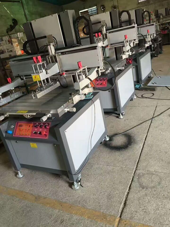 Vertical  Electric screen printing machine 8
