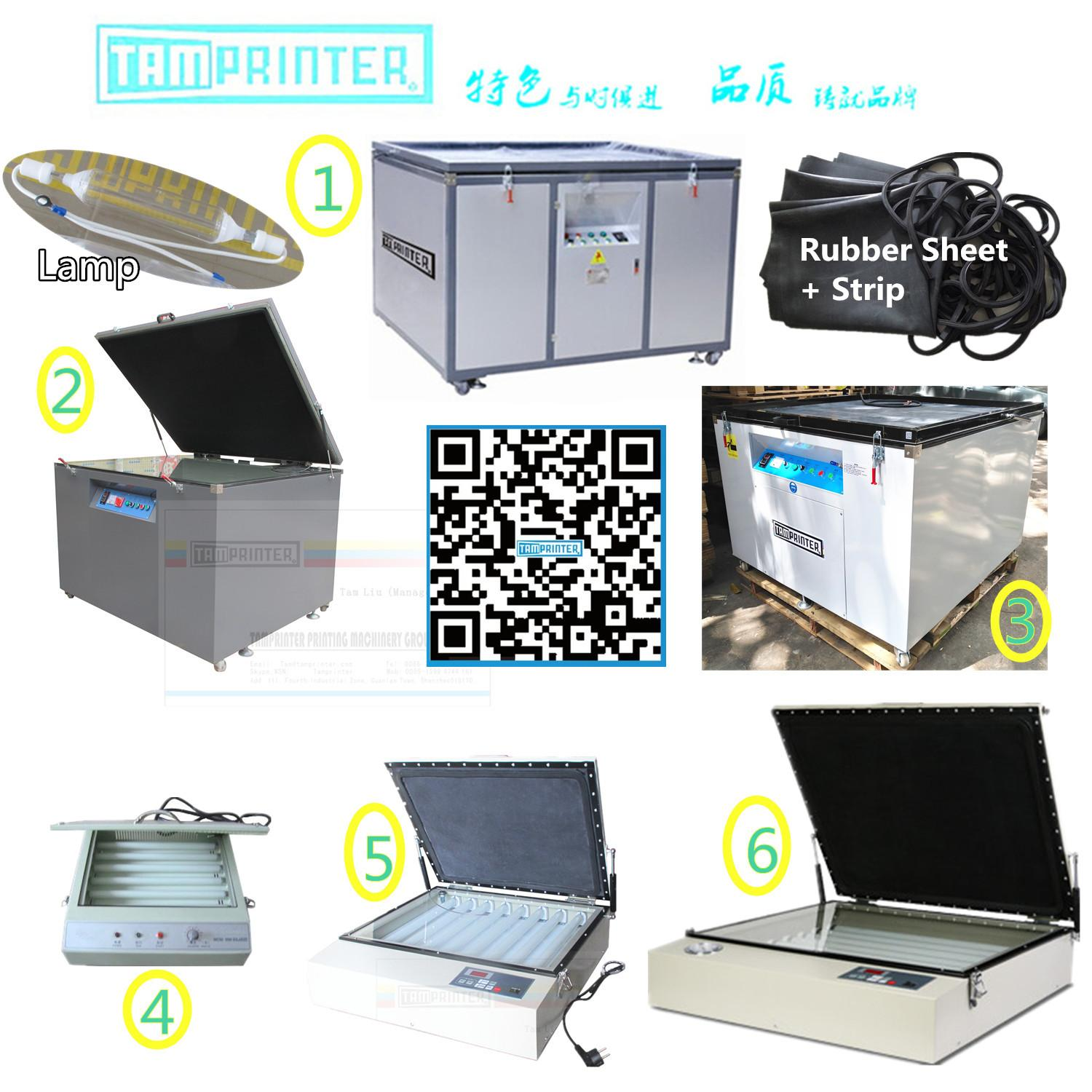 Funnel Screen Printing Exposure Machine 15
