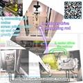 servo precision Vertical screen printing machine 8