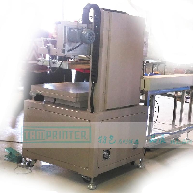 Vertical  Electric screen printing machine 7