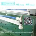 Plastic sheet clean room screen printing equipment
