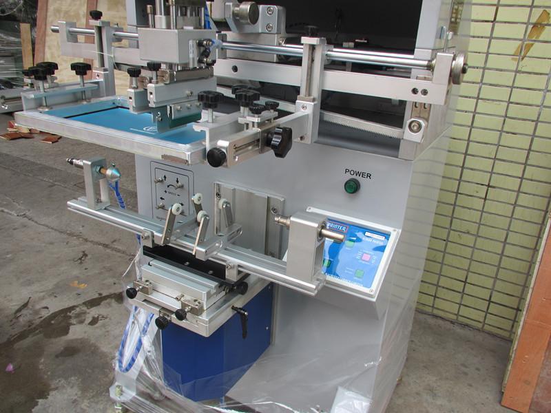 Φ135MM  pneumatic cylindrer screen printer 6