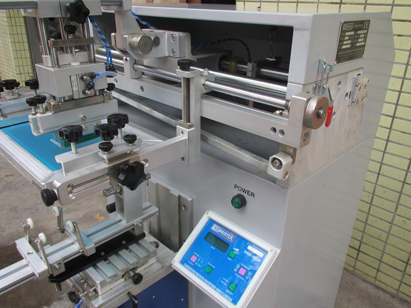 Φ135MM  pneumatic cylindrer screen printer 7