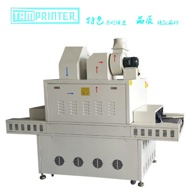 Inert material UV primer dryer 2