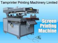 TMP-6090 semi Clamshell Screen Printing Machine