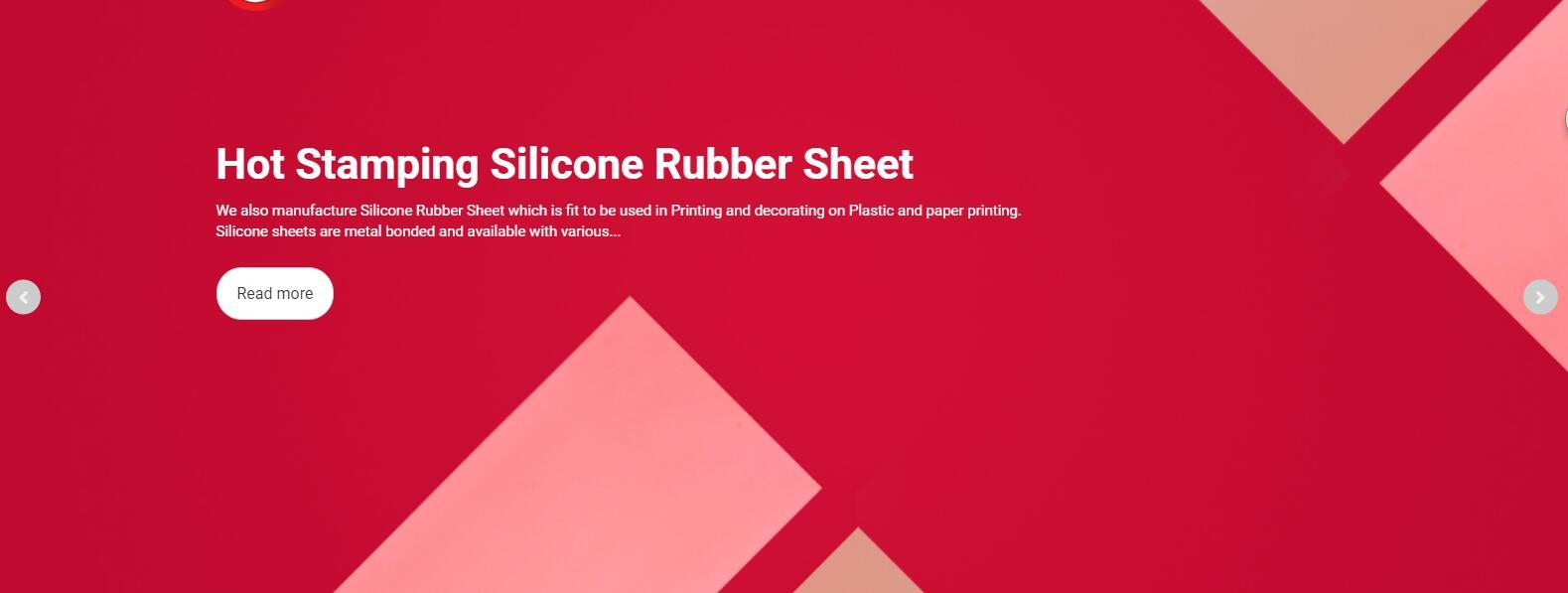 Hot Stamping Silicone Rubber Sheet 6