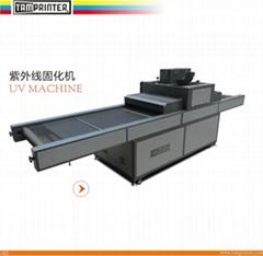 UV curing machine for auto screen printing UV750L