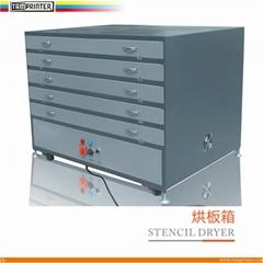 platesetter stencil dryer