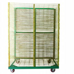 TM-50DG galvanized 50 Layers Screen Printing Drying Racks