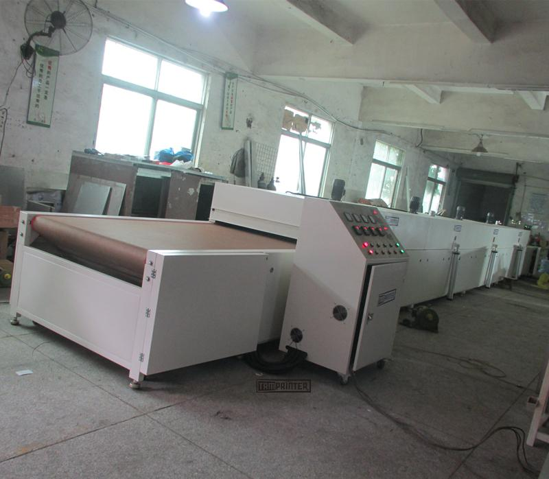 13m roller coating Glass Infrared Tunnel Oven 11