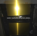water washable polymer plates