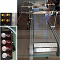Flame treatment machine with 4 Air-Gas burner