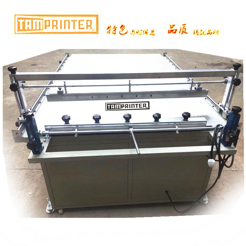 big Glass Manual screen printing machine with vacuum