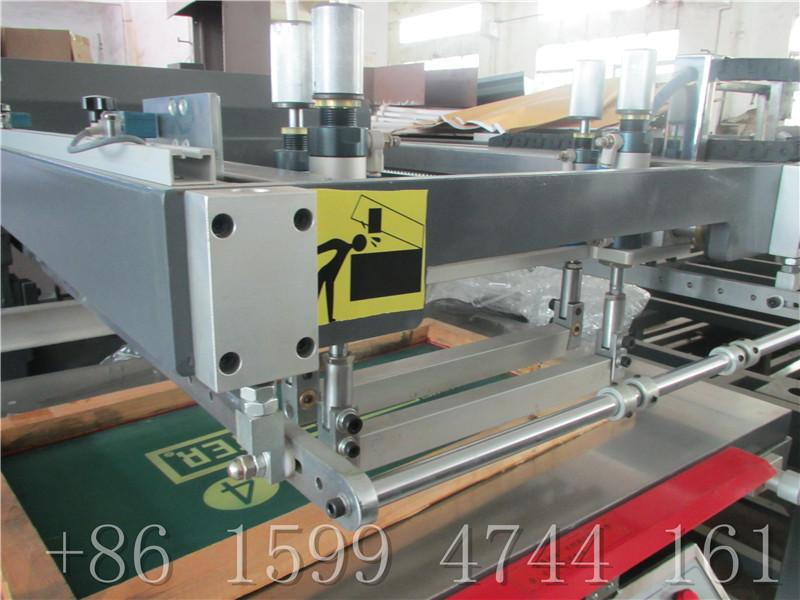 traffic sign auto screen printing machine 6